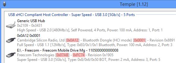 USB ID Database::Vendor ID and Product ID list - the sz development